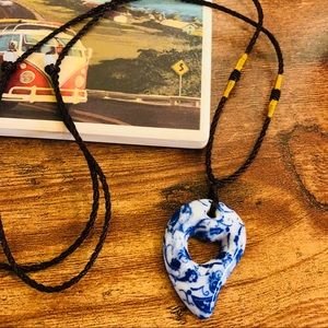 🆕🆕✨HANDMADE PORCELAIN CERAMIC PENDANT NECKLACE✨